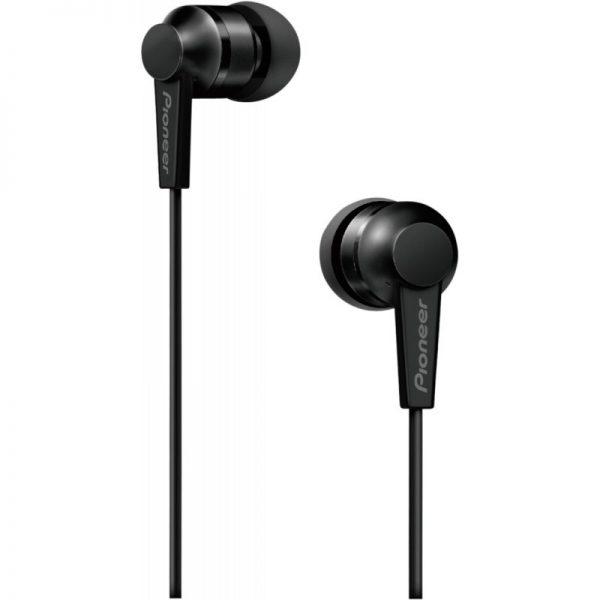 Pioneer SE-C3T Aluminium Lightweight In-ear Headphone - Black