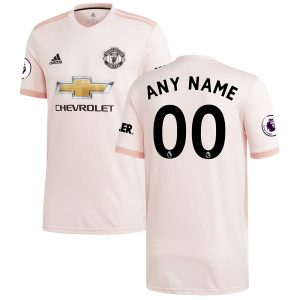 2017-2018 Manchester United Away Jersey For Men (Personalized Name & Number)
