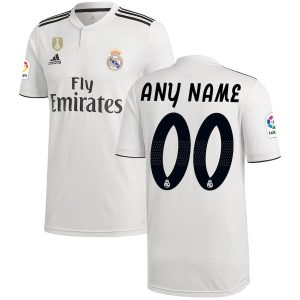 2018-2019 Real Madrid CF Home Jersey Shirt For Men (Personalized Name & Number)