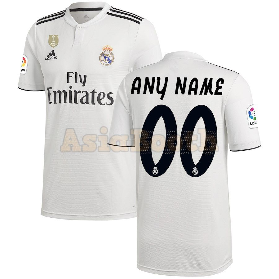 timeless design 80263 14aba 2018-2019 Real Madrid CF Home Jersey Shirt For Men (Personalized Name &  Number)