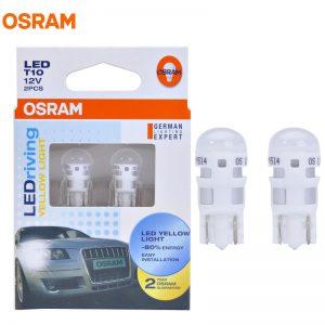 Osram 2880YE LEDriving T10 W5W LED Yellow 2000K-3000K