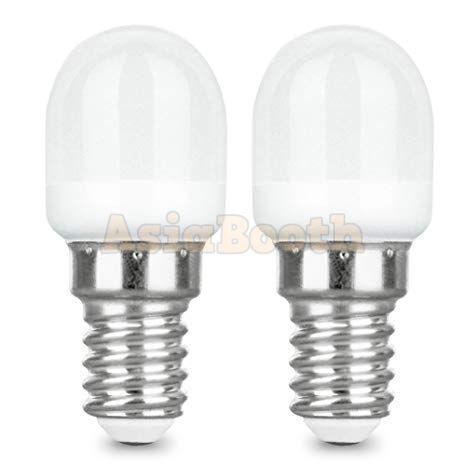 E12 LED Light Bulb Day Light 2 Watt 6000K (2 Pieces)
