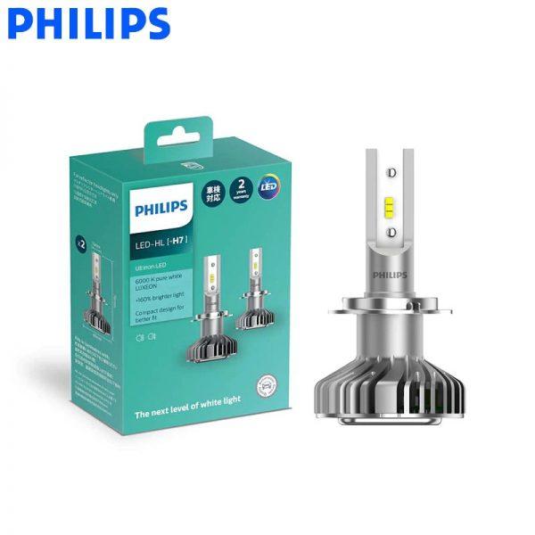 PHILIPS Ultinon LED-HL Headlight Bulb 6000K +160% Brighter (H7)