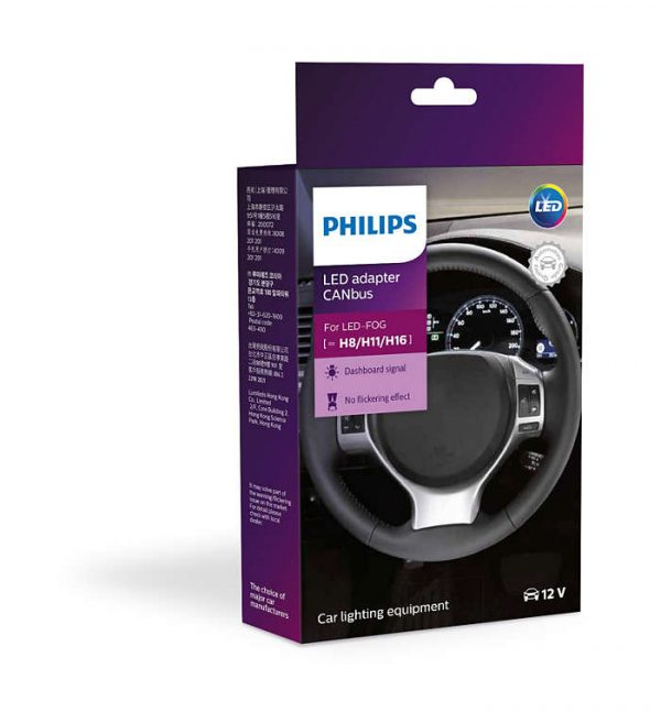 PHILIPS LED Headlight CANbus Adapter Warning Canceller H8 H11 H16