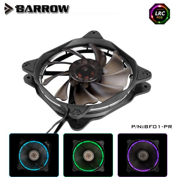 Barrow Computer Fan RGB LED 120mm - BF01-PR