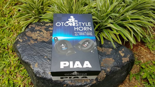 PIAA OTO Style Horn 12v 112dB - Car Motorcycle Trumpet Horn HO-14