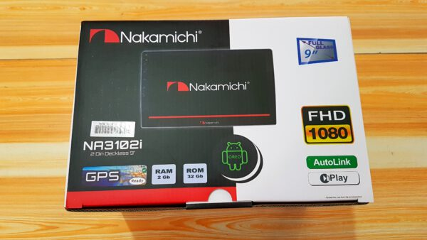 "Nakamichi NA-3102i Android Auto TV Car 9"" Inch 2GB RAM / 32GB ROM"