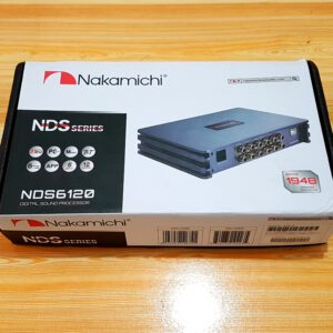 Nakamichi NDS-6120 Car Audio Digital Signal Processor 12Ch DSP Amplifier 31 EQ